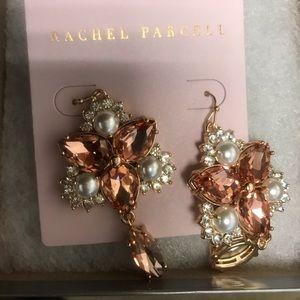 Rose Gold earrings. Never worn